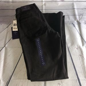 NYDJ Brown Straight Jeans Size 2P